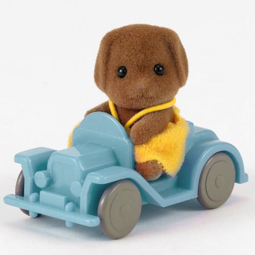 1414 bebe perro coche
