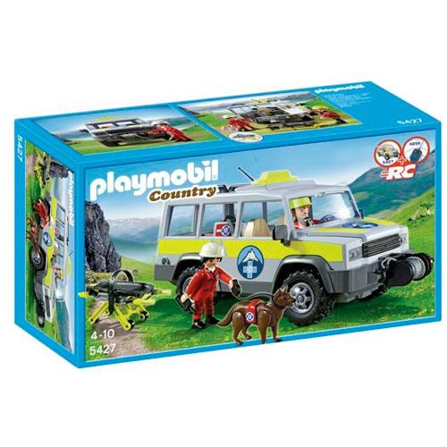 Vehículo de rescate montaña