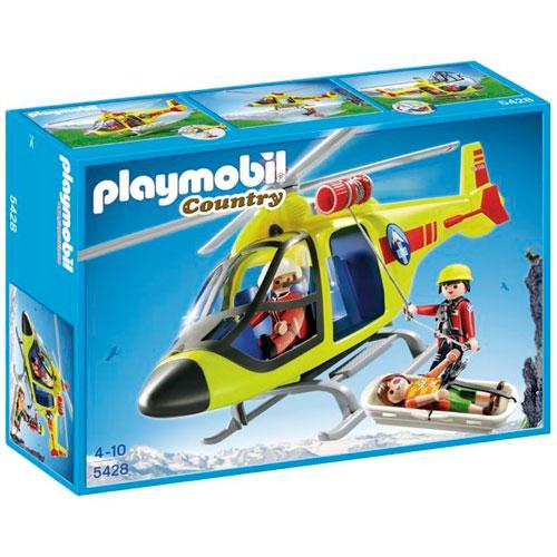 Helicóptero rescate  de montaña