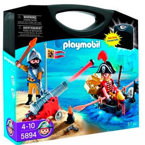 Conjunto caja pirata