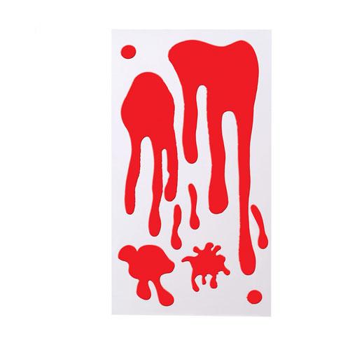 decoración sangre gel
