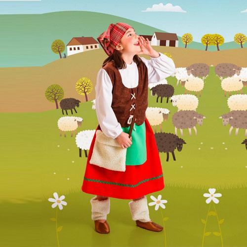 Disfraz de pastorcilla