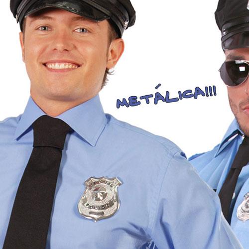 PLACA DE POLICIA