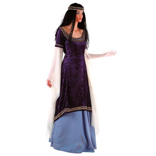Disfraz medieval Princesa elfos