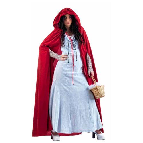 Disfraz caperocita roja celeste