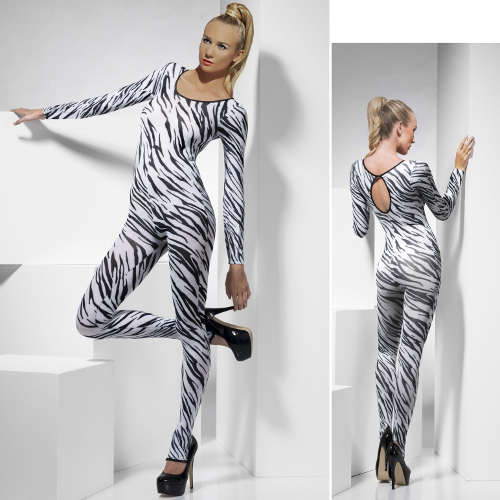 BODY CON ESTAMPADO DE ZEBRA