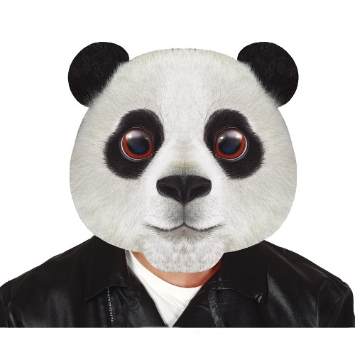 MASCARA GIGANTE PANDA